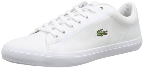 Lacoste Homme Chaussures / Baskets Lerond 216 1 SPM Blanc