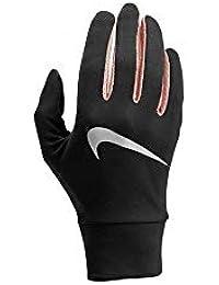 super popular e84b4 172f0 Nike Damen Womens Lightweight Tech Running Gloves 071 BlackStorm PinkSilv  Handschuhe
