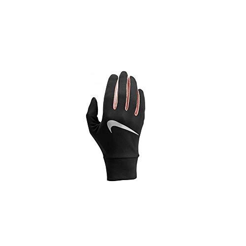 Nike Damen Womens Lightweight Tech Running Gloves 071 Black/Storm pink/silv Handschuhe, S