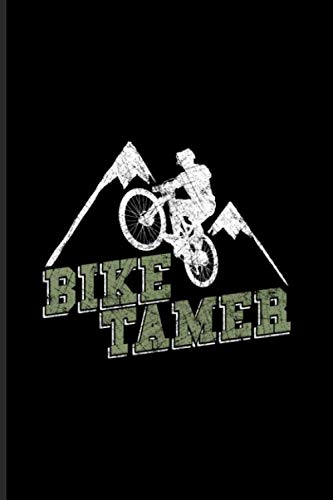 Bike Tamer: Biking And Cycling Undated Planner   Weekly & Monthly No Year Pocket Calendar   Medium 6x9 Softcover   For Cyclists & Fitness Fans