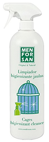 MENFORSAN 54159MFA053 Limpiador Higienizante para Jaulas Aves 1 Litro, Un tamaño
