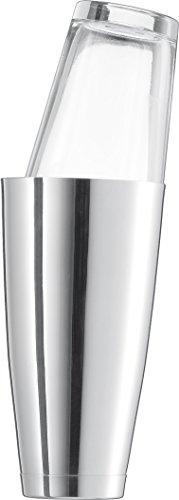 Schott Zwiesel 115847 Boston Shaker Basic Bar V 0,7 L, Bleifreies Kristallglas, silber, 9.2 x 9.2 x 17.7 cm,