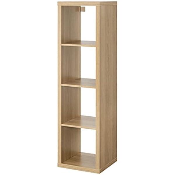 Mueble rectangular de IKEA, modelo Kallax, con 4 estantes ...