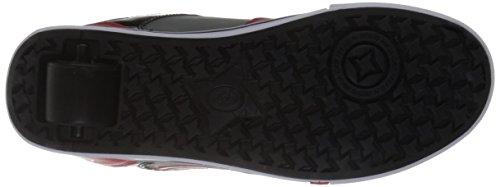 Heelys Mens Motion Plus Fashion Sneaker Red/Black/Grey/Graphics