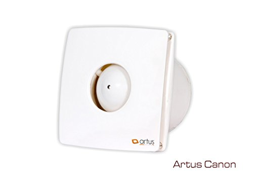 Artus Canon High Speed Exaust Fan White (4')