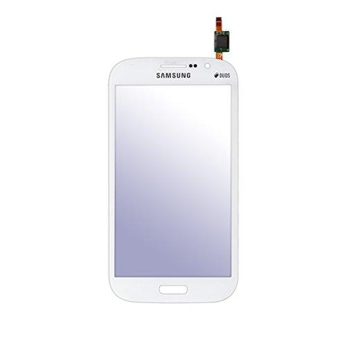 Frontglas mit Digitizer Displayglas Frontscheibe mit Touchscreen für Samsung Galaxy Grand Neo PLUS (GT-i9060i) Weiß