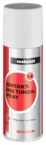 Teslanol® T6-OSZILLIN Kontakt- und Tunerspray  400ml -