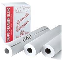 Liegenabdeckung, 60°x°38°cm, 150 Blatt, Weiß, Karton mit 6 Rollen preisvergleich bei billige-tabletten.eu