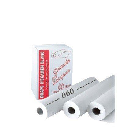 Preisvergleich Produktbild Liegenabdeckung / Ärztekrepp,  60 x 38 cm,  150 Blatt,  Karton mit 9 Rollen