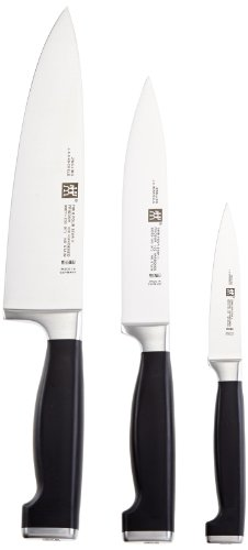 Zwilling 33415-000-0 Twin Four Star II Set Coltelli, 3 Pezzi