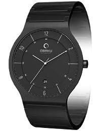Obaku Harmony Herren-Armbanduhr V133G BBSB