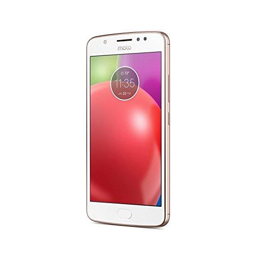 Motorola Moto E4 - Smartphone libre Android 7  pantalla 5  HD 2 5D glass  4G  c  mara de 8 MP  2 GB  16 GB  MediaTek MT6737  Quad-core de 1 3 GHz   co
