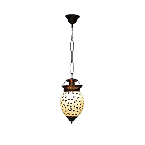 The Brighter Side Silver Mosaic Single Unit Pendant light for Room Office Home Decor handicraft