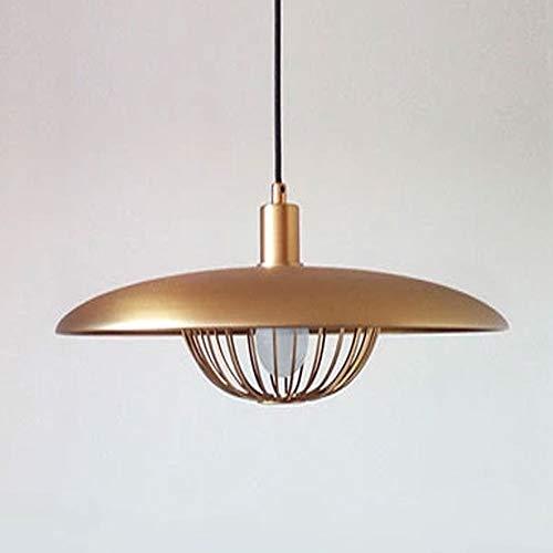 Candtong Antikes Messing poliert Kronleuchter, Leuchten Klassische Pendelleuchte für Schlafzimmer Esszimmer Küche Foyer (Farbe : Gold) -