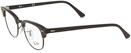 Ray-Ban RAYBAN Unisex-Erwachsene Brillengestell 5154, Schwarz (Black), 49