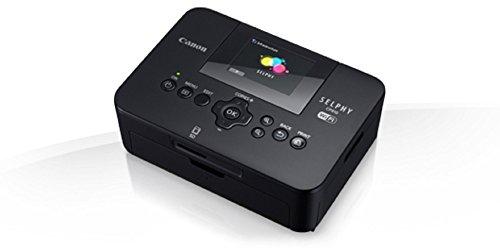 Canon Selphy CP910 Mobiler Fotodrucker (6.8 cm (2.7 Zoll) Display, 300 dpi, WLAN, USB) schwarz