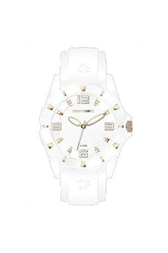 Time Force montre femmes caoutchouc Blanc