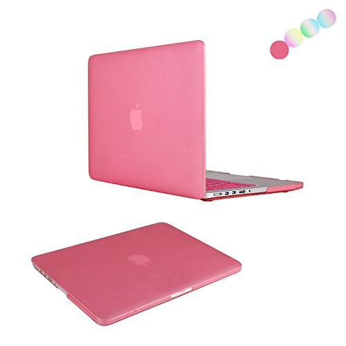 MacBook Pro 13 Retina Custodia Case, Vimay Plastica Custodia rigida per Apple MacBook Pro da 13,3 A1502/A1425 con display Retina (ULTIMA VERSIONE, NO drive CD-ROM), Viola Rosa