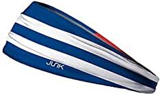 JUNK Brands Cuba Flag Big Bang Lite Headband Cinta de Pelo, Unisex Adulto, Azul