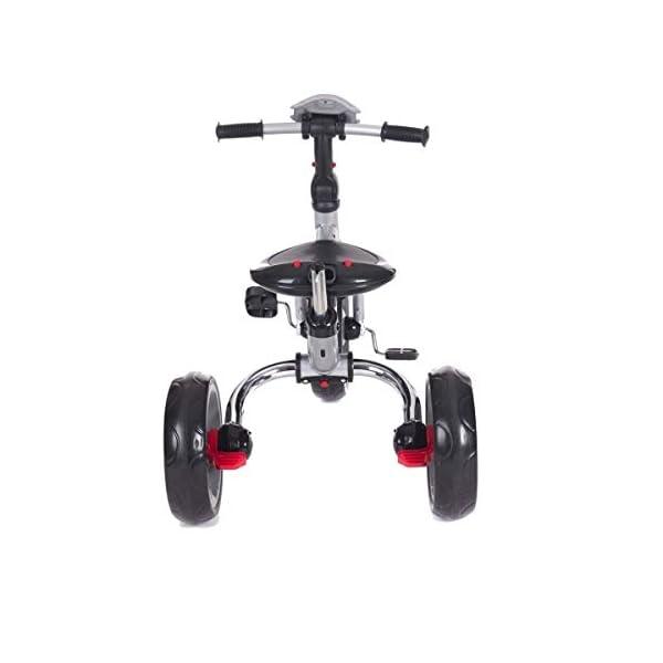 Kikka Boo 31006020043 Sports Trolley Kikka Boo KIKKA BOO strollers and strollers Sports prams and strollers for unisex children. Nikki Tricycle Melagne Grey (31006020043) 8