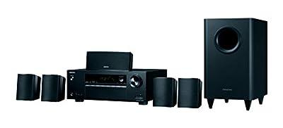 ONKYO HT-S3800 5.1 525W Compatibilité 3D Noir Système Home Cinema - systèmes Home cinéma (BD,DVD, 5.1 canaux, 525 W, DTS-HD Master Audio,Dolby Digital Plus,Dolby TrueHD, 100 DB, 0,06%) par ONKYO