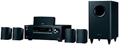 Onkyo HT-S800-B - Conjunto de receptor y altavoces (AV, 5.1 canales, Bluetooth) color negro