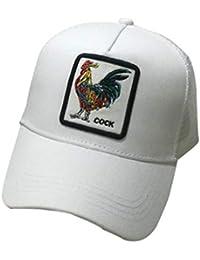 Malla Unisex Gorra De Béisbol Del Bordado De Hip Hop Animal Gorro Sombrero De Sol Con