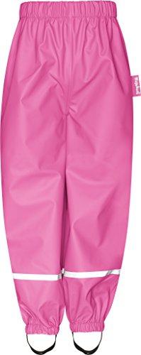 Playshoes Baby-Mädchen Regenhose Matschhose Ohne Latz, Rosa (Pink 18), 80