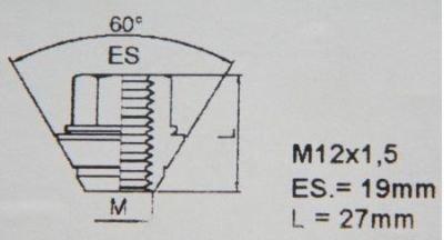 HEYNER Germany Mazda5 MX5 Models StillBull Locking Wheel Nuts Removal Key M12x1.5 Set 4 Locks Alloys Antitheft Protection Bolts HA1