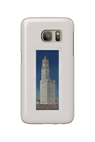 woolworth-building-new-york-vintage-poster-usa-c-1913-galaxy-s7-cell-phone-case-slim-barely-there