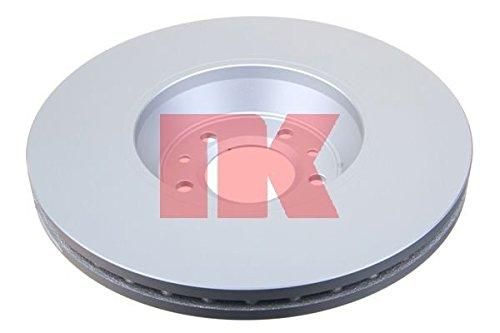 Preisvergleich Produktbild NK 313728 Bremsscheibe Scheibenbremsen, Bremsscheiben (x2)