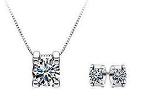saysure-silver-plated-engagement-wedding-bridal-jewelry-sets