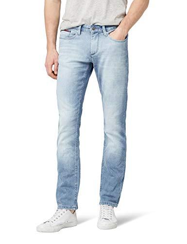 Tommy Jeans Herren  Scanton   Slim Jeans Blau (Berry Light BLUE COMFORT 911) W27/L30 Denim Light Blue Jeans