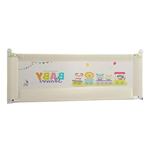 tzgitter-Zaun tragbares vertikales Heben einzelnes Kleinkind-Sicherheits-Bettschutz, Absturzsicherung Bedside-Schallwand (Einstellhöhe 69-82cm) für Kingsize-Bett ()