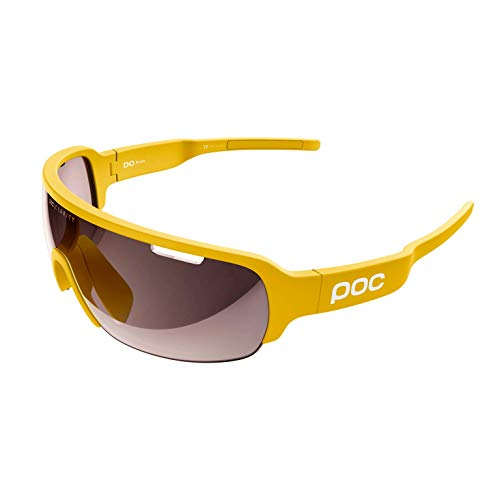 POC DO Half Blade w. extra Lens Sonnenbrille, Sulphite Yellow, One Size
