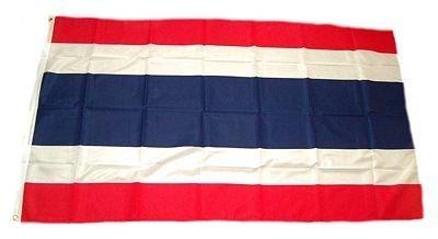 Drapeau King Thaïlande Drapeau/drapeau multicolore, 150 x 90 x 1 cm, 17006