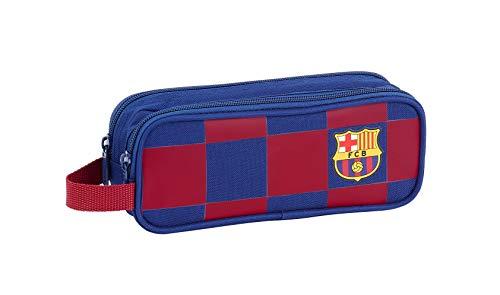 FC Barcelona Estuche portatodo Doble 2 Cremalleras