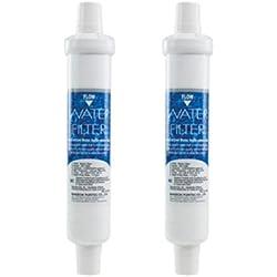 2 x Banseok DD-7098- 2 filtri autentici per filtri dell'acqua esterno, per frigorifero Ariston, Balay Bosch Daewoo Neff, Miele, frigoriferi e freezer Siemens