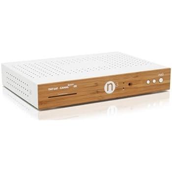 Neli - Base N3 - Décodeur satellite HD/3D TNTSAT CANALREADY, multi-tv, CPL intégré