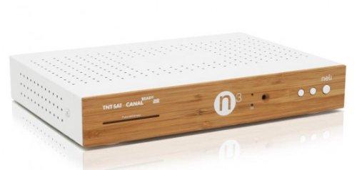 Neli Grundlage N3 3D HD SAT-Receivers, für TNTSAT CANALREADY multi-tv, Integrierte CPL