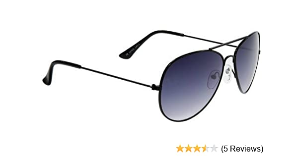 9535df251e1 Mens Apache Aviator Sunglasses with Black Lenses   Gun Metal Frame with NEW  Cool Blue Technology Lenses Offering Full UV400 Protection (CAT 3 Lenses)  UV400