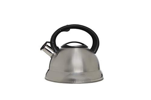 Cosy & Trendy 9525885 Bouilloire 3L INOX POIGN.Noire D22XH21, Autre, Aluminium