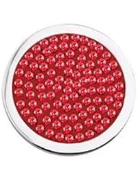 moneda diamond discs hot pink mi moneda
