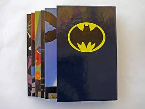 Batman Schuber: Im Zeichen der Fledermaus- 5 Paperbacks im Schuber- Die besten Batman- Storys in einer Box (1997, Carlsen Verlag)