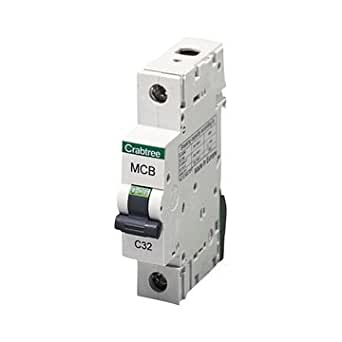 Crabtree 6a Type B 6ka MCB 61//b06 B6 6 Amp Circuit Breaker Tested for sale online
