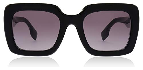 BURBERRY Sonnenbrillen Striped Check BE 4284 Black/Violet Shaded Damenbrillen