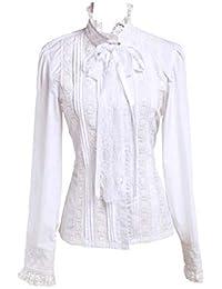 best website 56468 31097 Suchergebnis auf Amazon.de für: weisse bluse mit spitze ...