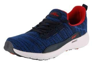 Campus CG 18 Air Rift Sky and Red Men Sport Shoes