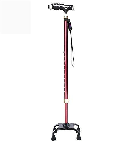 ZHAS Drive Medical, Verstellbarer Quad Cane, Leichter Spazierstock für Herren \u0026 Damen - Faltbare Cane Quad