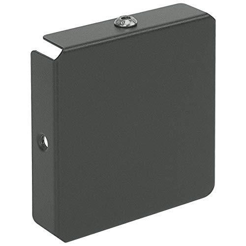 MOCAVI Vers 5 Verschluss Zeitungsfach Regenschutz-Abdeckung einseitig für Box 500 oder Box 510 basalt-grau ral 7012